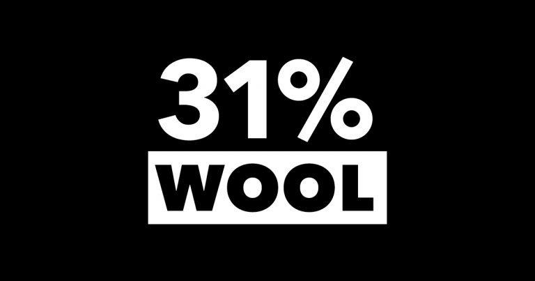 31 Percentwool