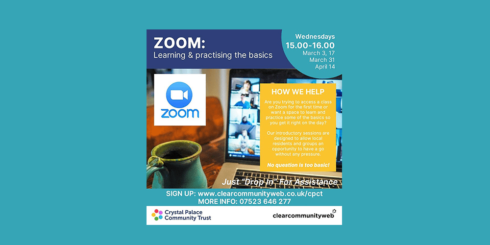 Zoom learning basics event